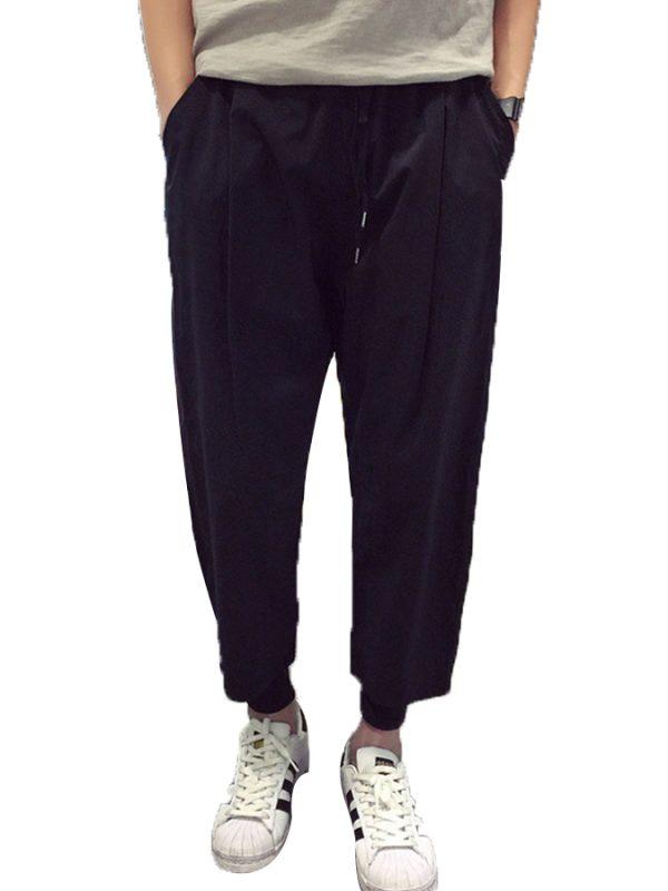 Мужские льняные брюки Чинос
