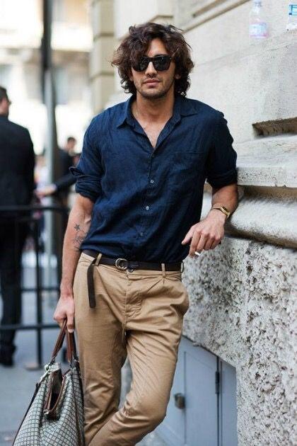 Мужская льняная офисная рубашка. Размер 42-74+ батал