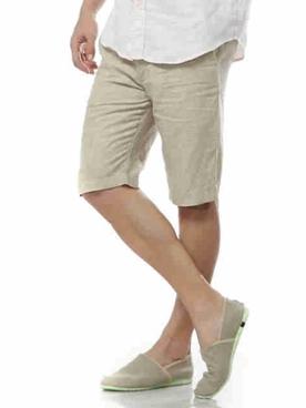 Мужские льняные шорты