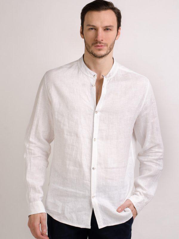 Мужские льняные рубашки