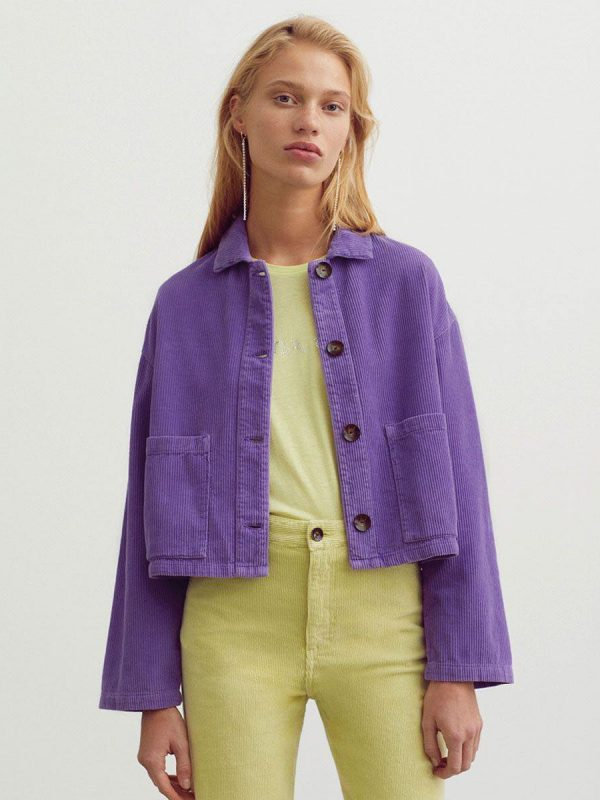 Женская вельветовая куртка, жакет.