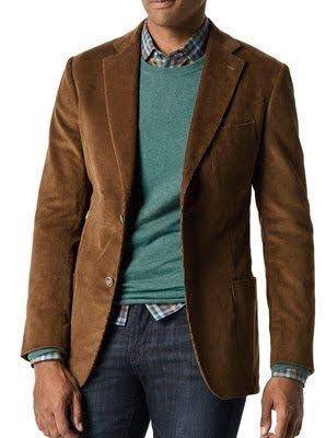 Пиджак в хулиганском городском стиле. Крупный и мелкий вельвет. Размер 42-74+