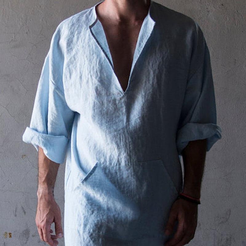 Арабская одежда мужская, тауб. Платье мужское из льна. Размер 42-74+ батал