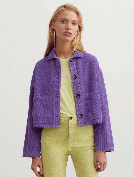 Куртка яркая из вельвета. Все цвета. Размер 42-74+
