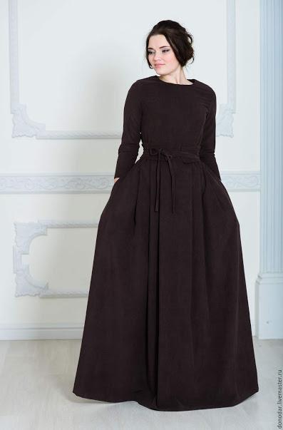 Женское платье на поясе из вельвета. Крупный и мелкий вельвет. Все цвета. Размеры 42-72